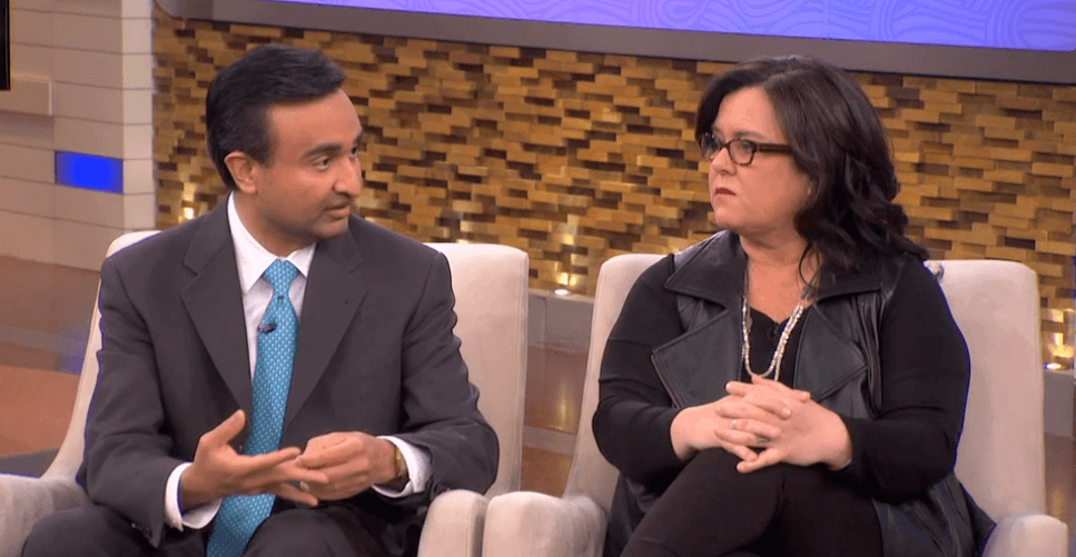 Dr. Trivedi on Rosie O'Donnell weight loss