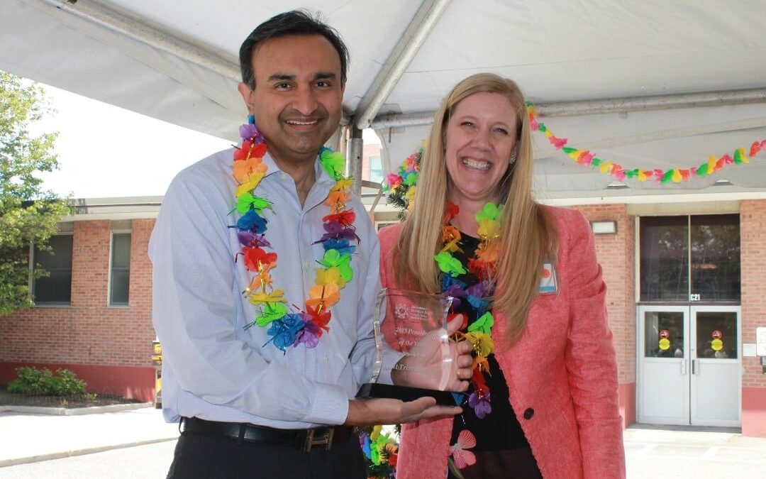 Dr. Trivedi Named 2019 Provider of the Year