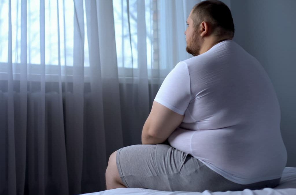 Obesity contributes to depression, and depressed people are at higher risk for obesity